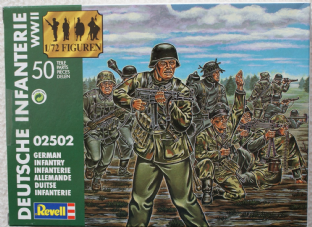 Revell 1/72 RV02502 German Infantry 1944-45 (WW2)